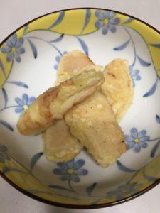 タケノコの天ぷらを作りました