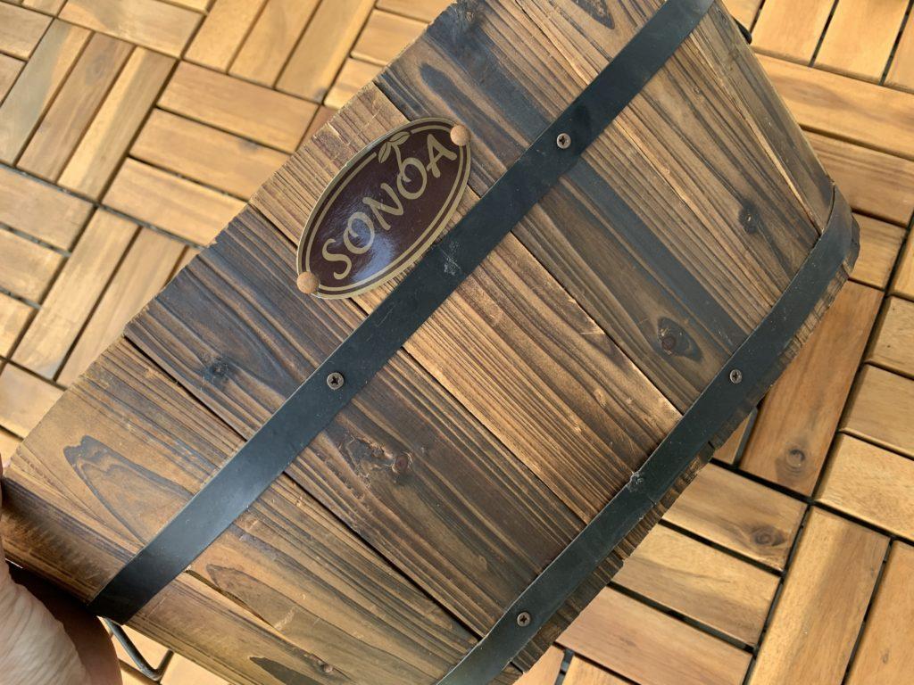 木製のプランター
